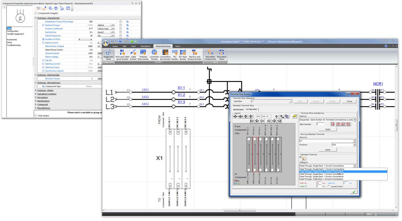 Oneline Electrical Diagram Automation Studiotm
